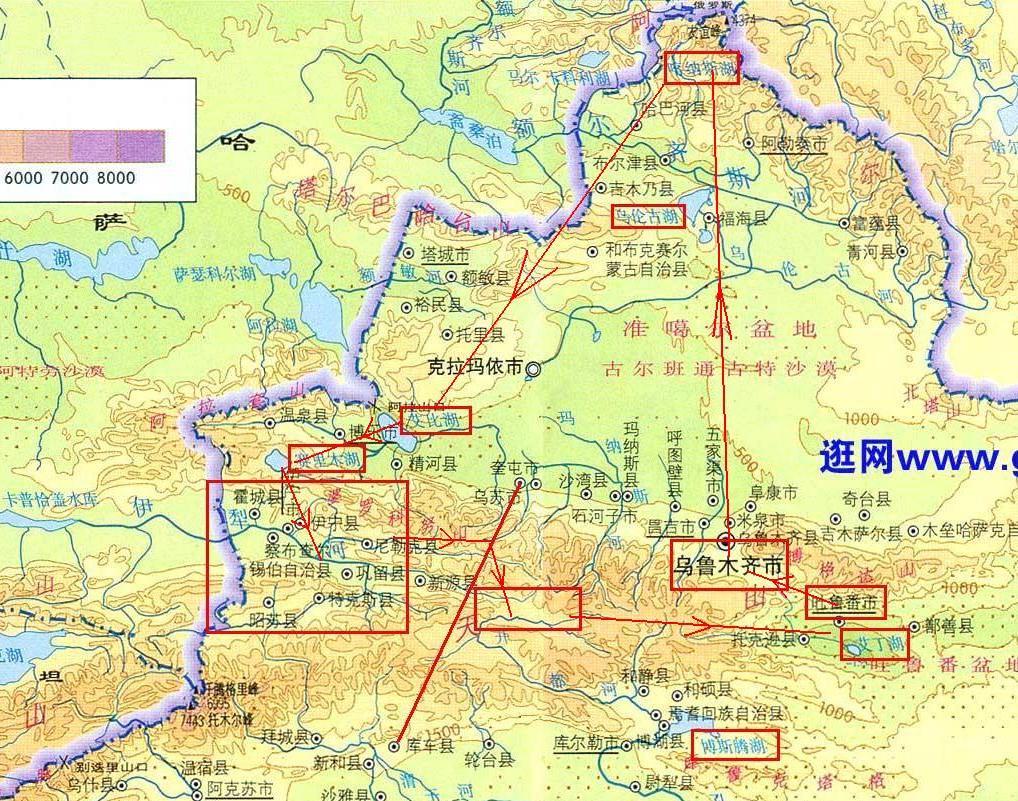 查乌鲁木齐地图