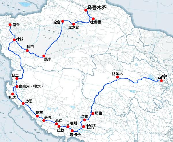 【环游中国】青藏线+拉萨+新藏线+新疆