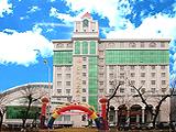 Exterior of restaurant of international of university of beautiful Mu Si