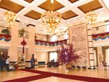 Hotel of international of university of beautiful Mu Si is old
