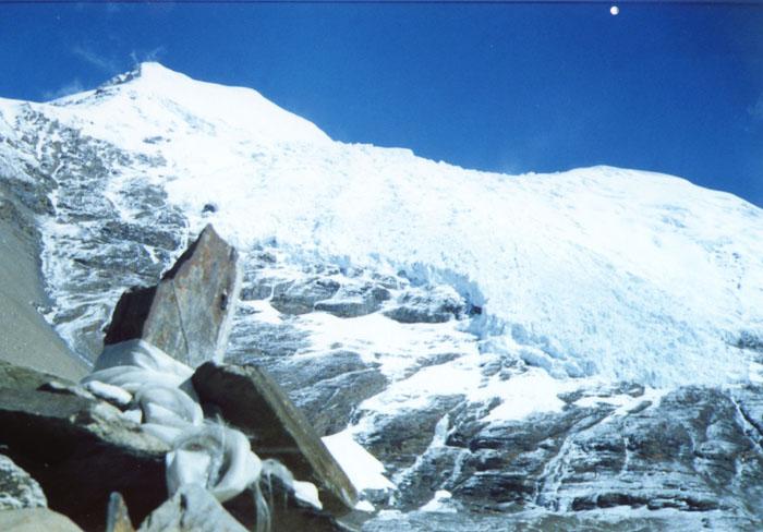 照片:西藏的山峰