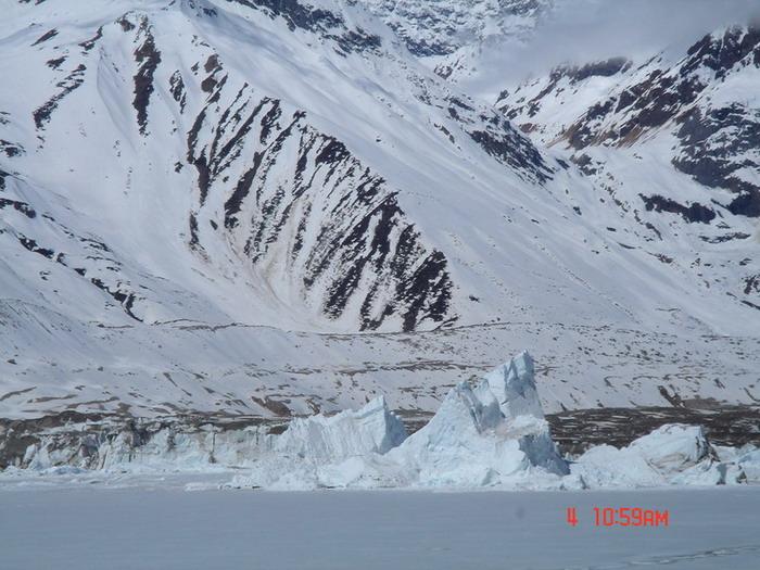 西藏林芝图片:来古冰川近照