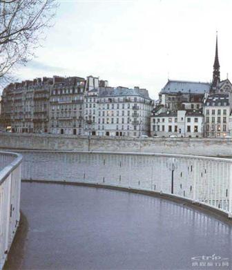 巴黎赛纳河高清图片