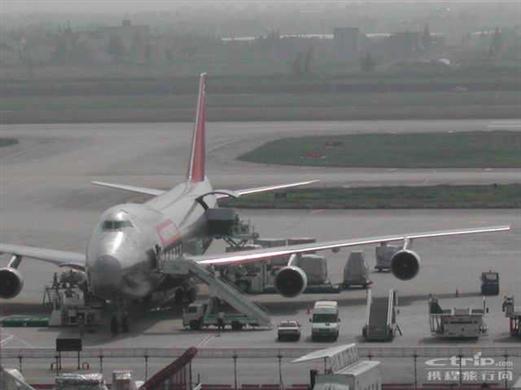浦东机场停机坪