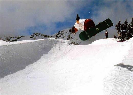 情缘加拿大(冬景篇)—滑板高手