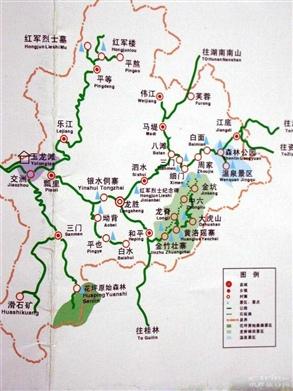 龙胜地图_照片分享 - 携程旅行网