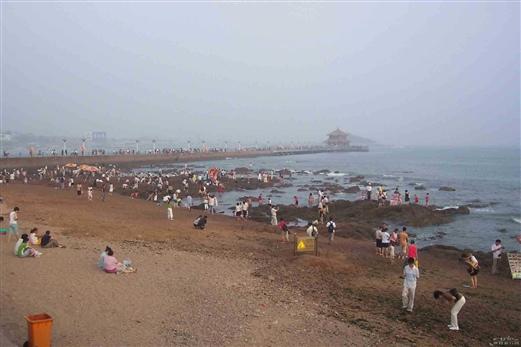 青岛栈桥及海水浴场1