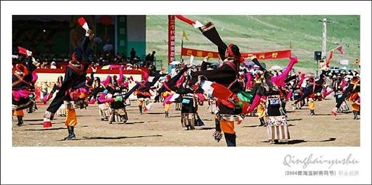 2004青海玉树赛马节--普天同庆,盛世中华 7