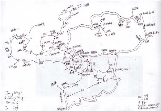 张家界手绘地图_照片分享