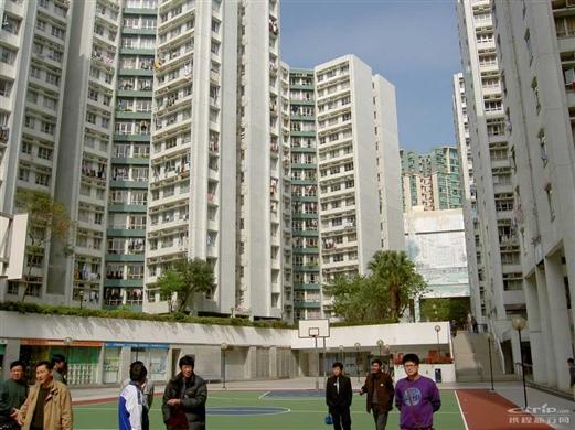 香港普通居民的住宅