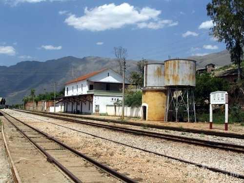 碧色寨火车站全貌