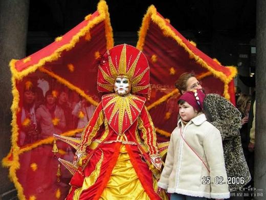威尼斯面具狂欢节