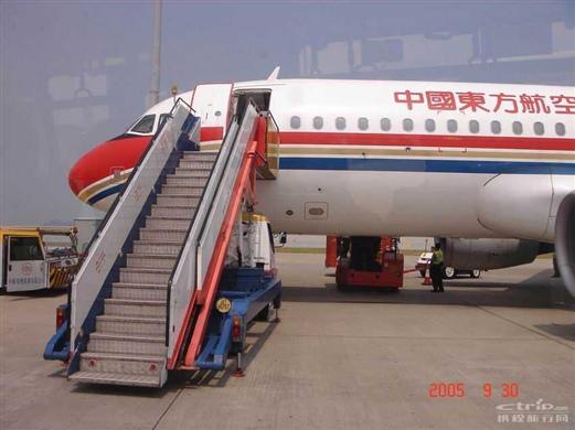 中国东方航空的飞机