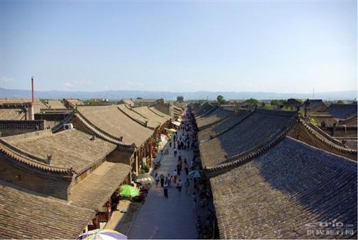 平遥古城风景区图片