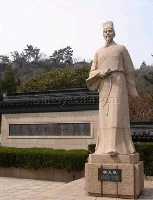 昆山公园雕塑名人