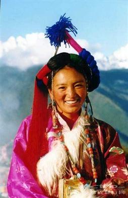 藏族姑娘_照片分享 - 携程旅行网