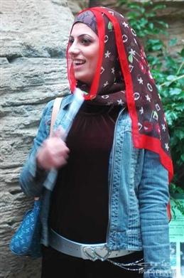 伊斯兰各国街头美女大点评 竖