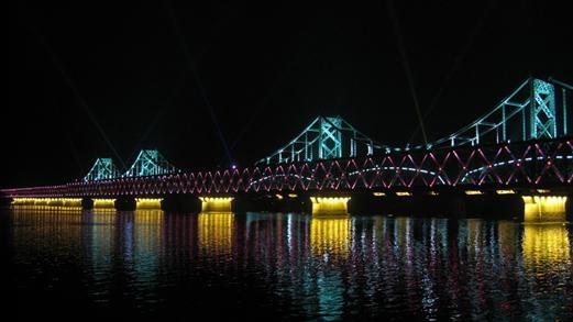 辽宁 丹东 鸭绿江大桥的全部照片图片