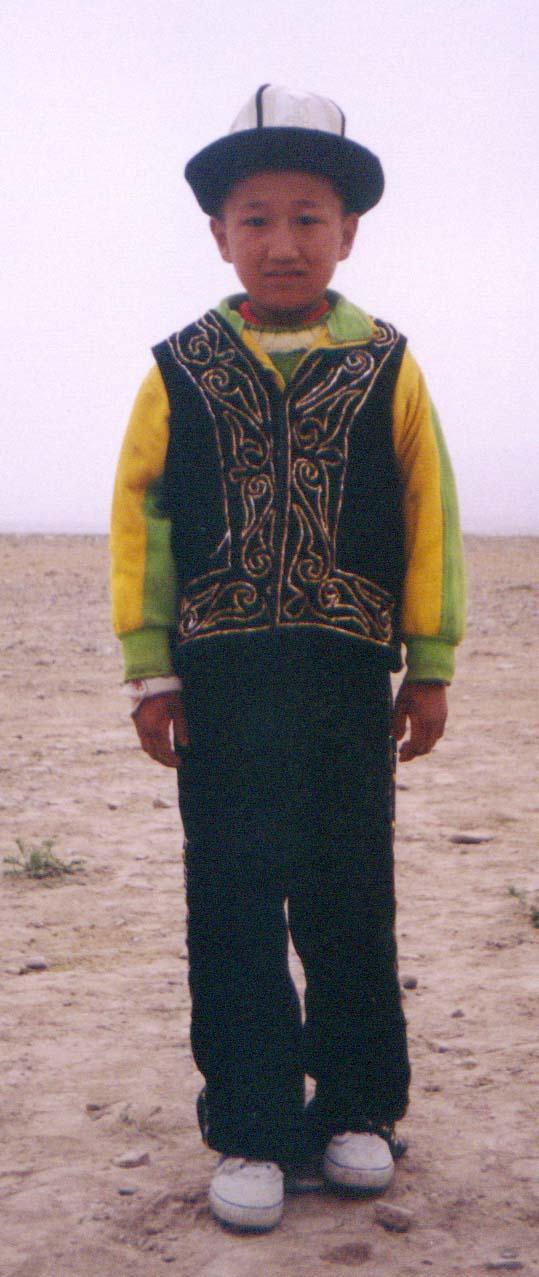 新疆可爱小孩儿