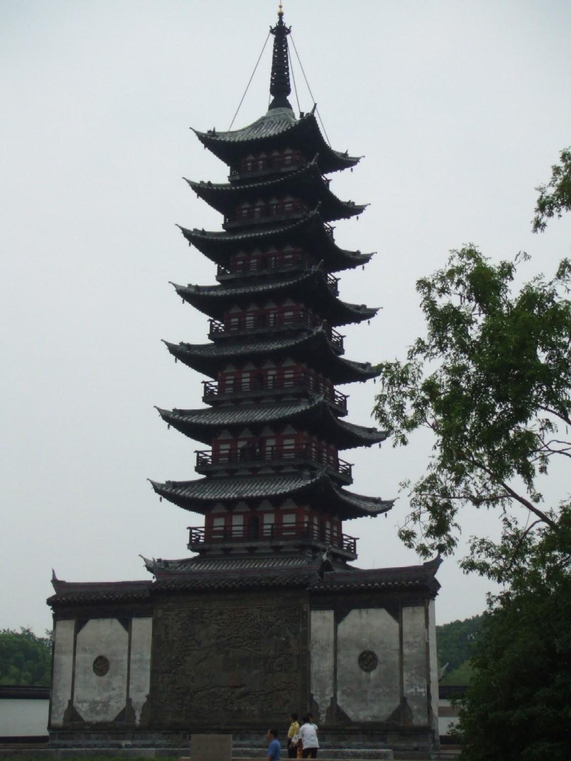 上海松江方塔; 常熟方塔公園; 松江