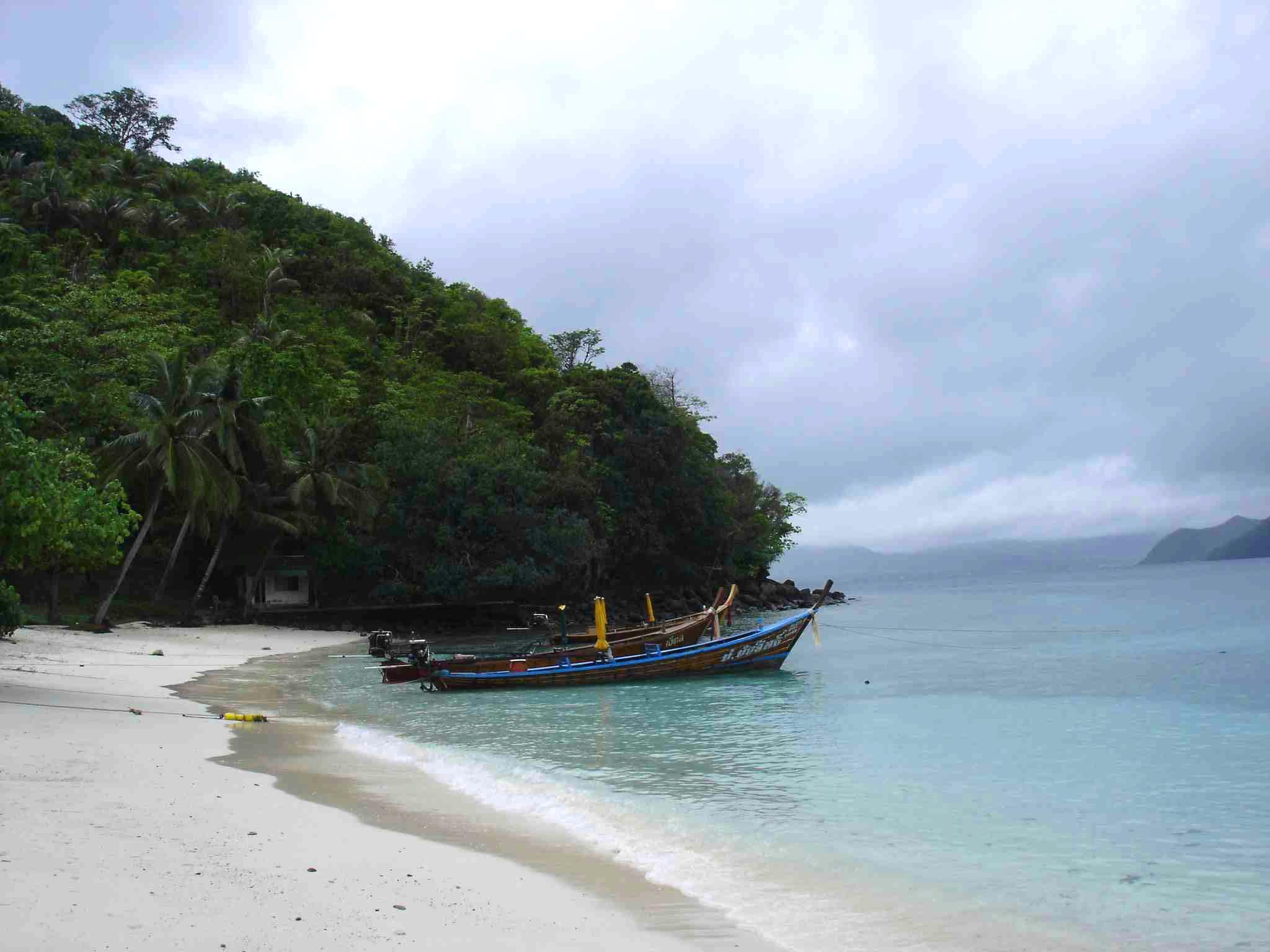香蕉海滩 普吉 关于浮潜的记忆