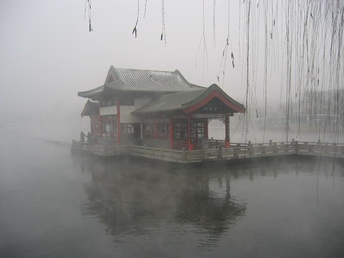 风景图片 泰山趵突泉