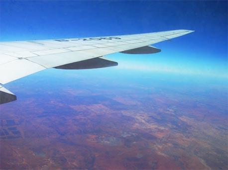 上海到澳洲飞机多久到