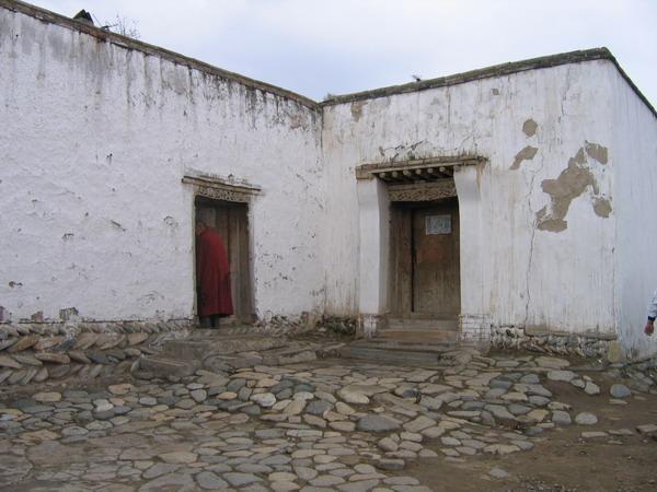 (塔尔寺的喇嘛住所) (塔尔寺的神树)