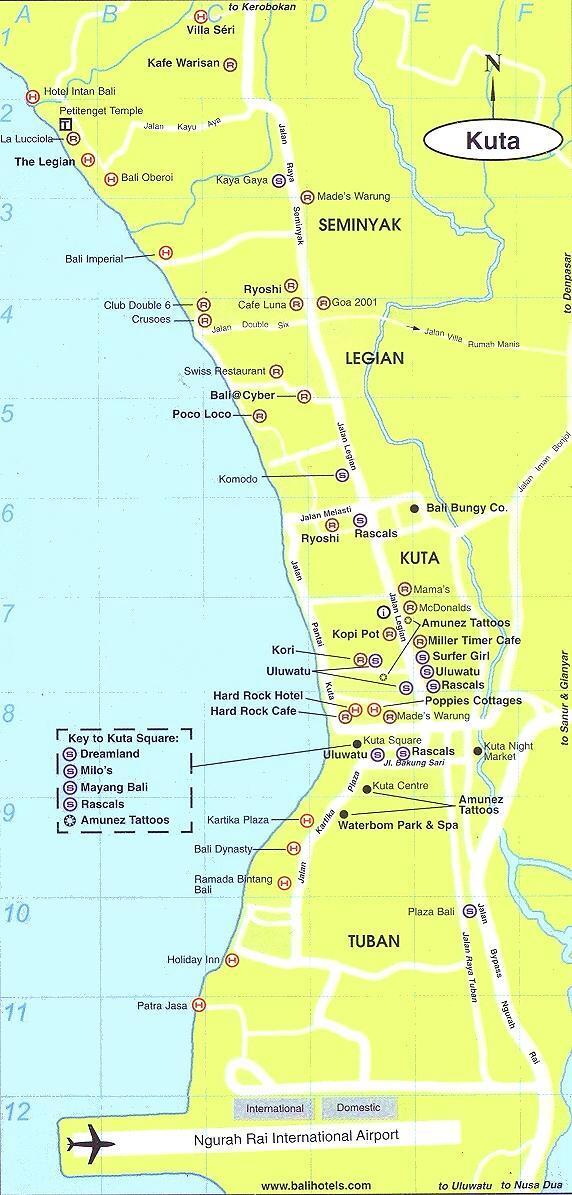 巴厘岛地图册_巴厘岛旅游攻略