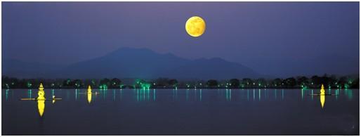 张祜描写月亮的诗