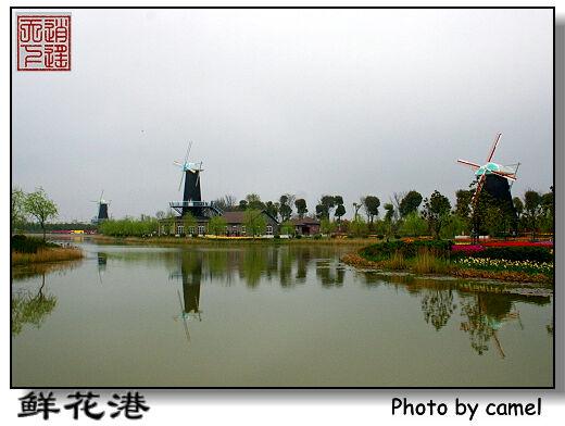 上海  龙阳公园  模特