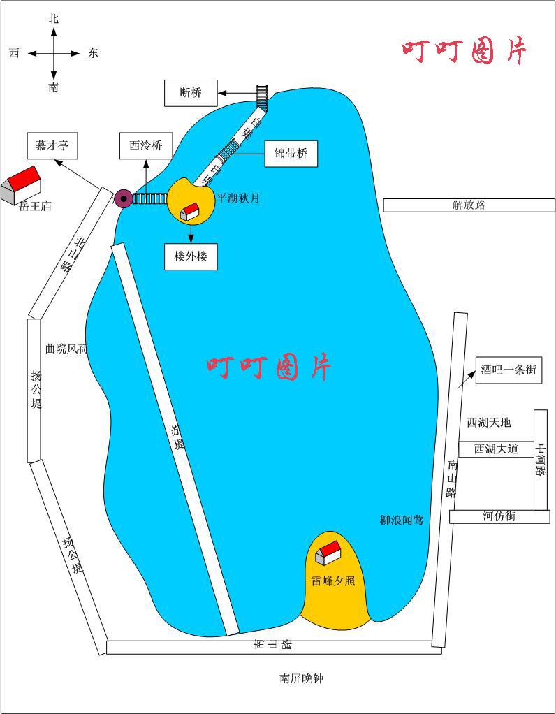 西湖三行--绕黄陂一圈-杭州旅游攻略-v攻略攻略杭州武汉攻略图片