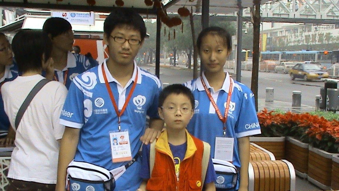 三年级小朋友眼里---奥运中的北京_北京旅游攻略