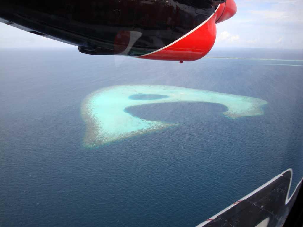 马尔代夫绝美照片 水上飞机看梦幻岛和w宁静岛(七)天堂归来