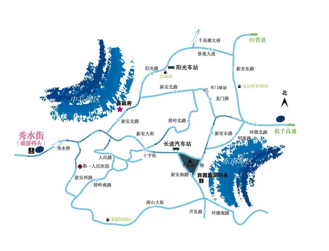 江南影视手绘地图