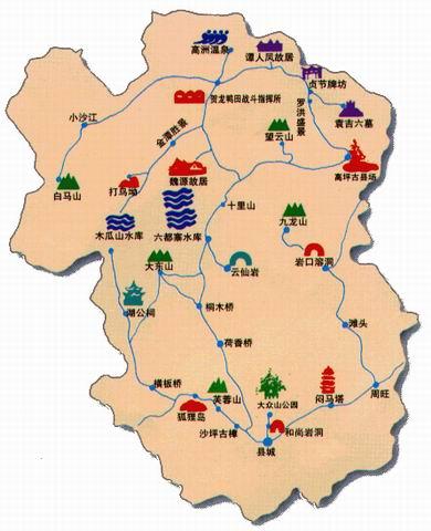 (旅游地图)