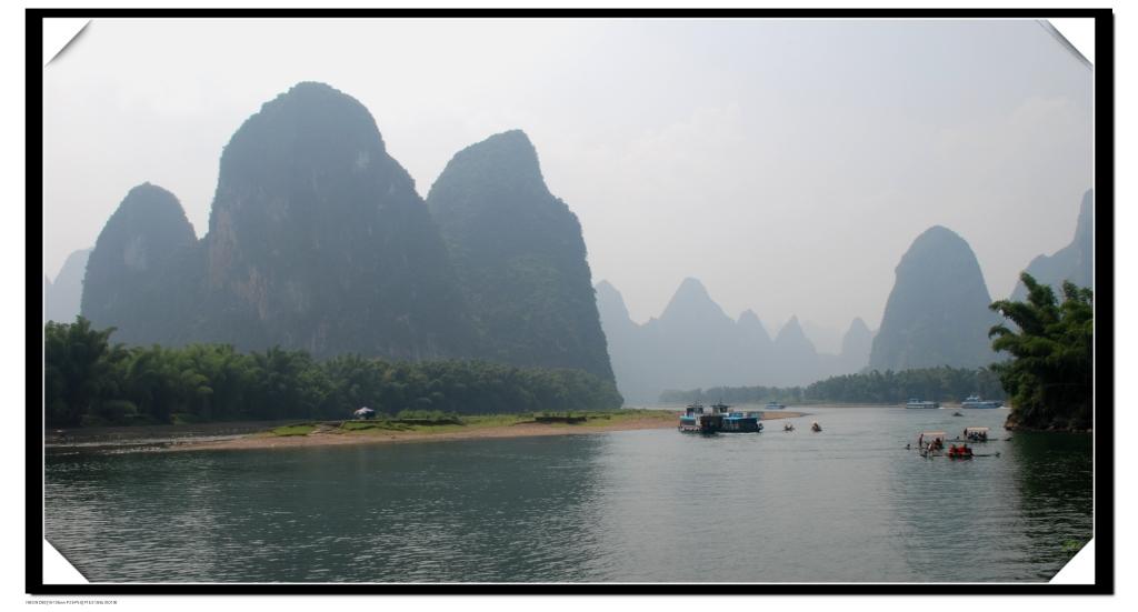(漓江(20元人民币背面图案))图片