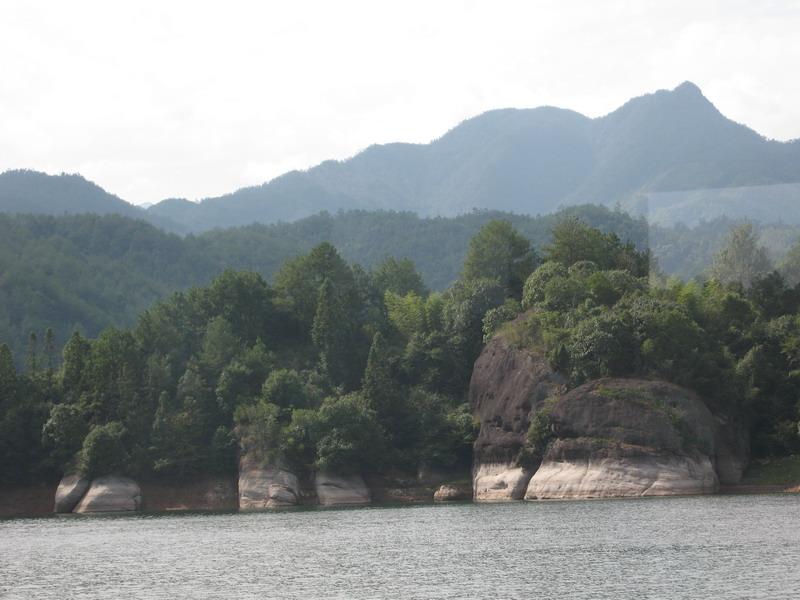 武夷山,泰宁游---碧波荡漾大金湖