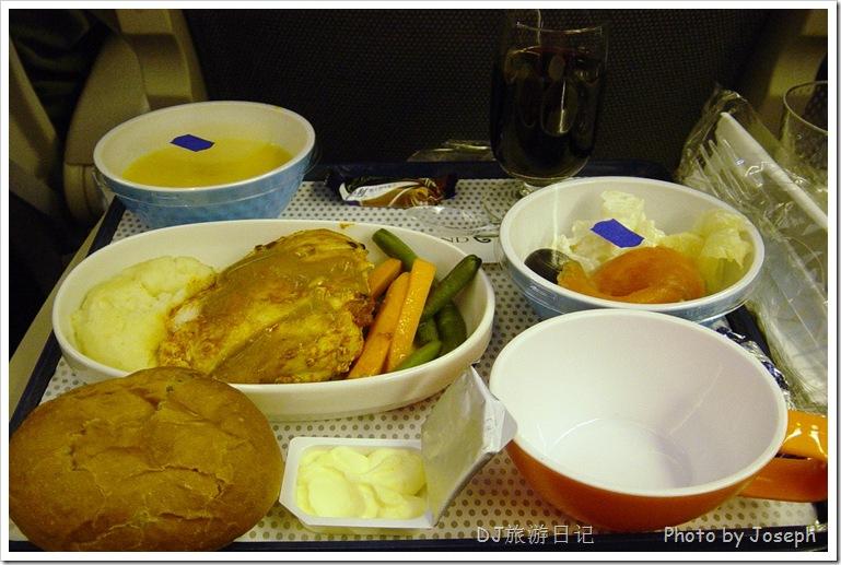 (新西兰航空的飞机餐)