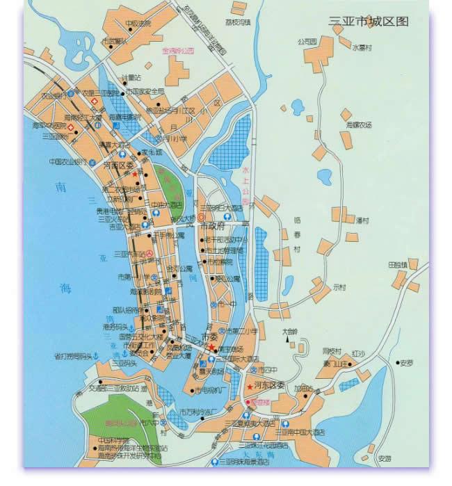 海南旅游,三亚市交通,公交线路+水果介绍=文字+图片
