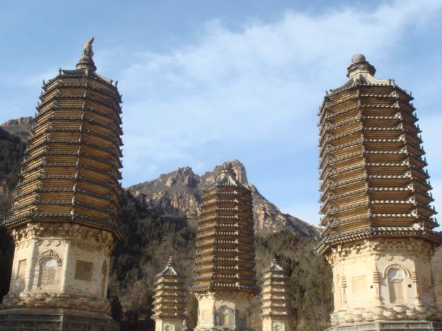 银山塔林--北京郊区一日游