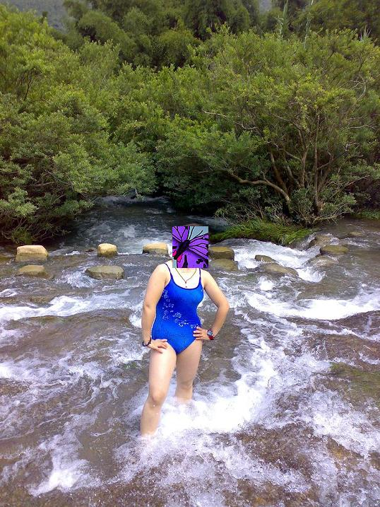 游记黔北 重庆美女的游泳池