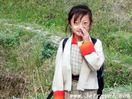 不丹女人生活照