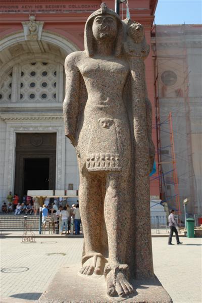 该馆收藏了古埃及从史前时期至希腊