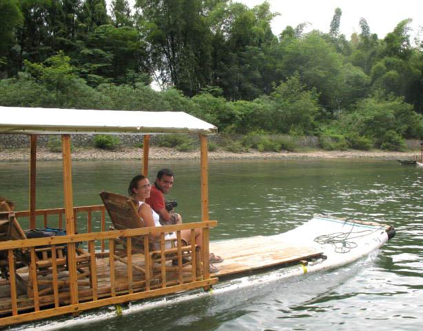 竹排船制作步骤