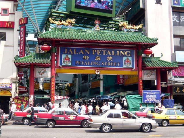 吉隆坡—双子塔41层的高度