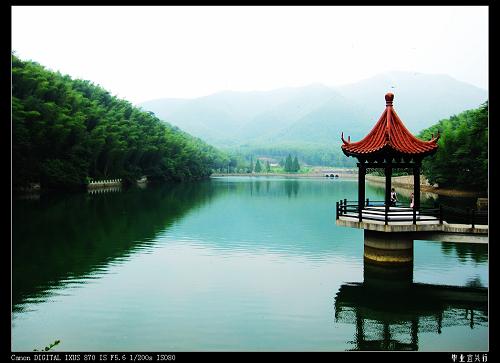 宜兴竹海风景区镜湖
