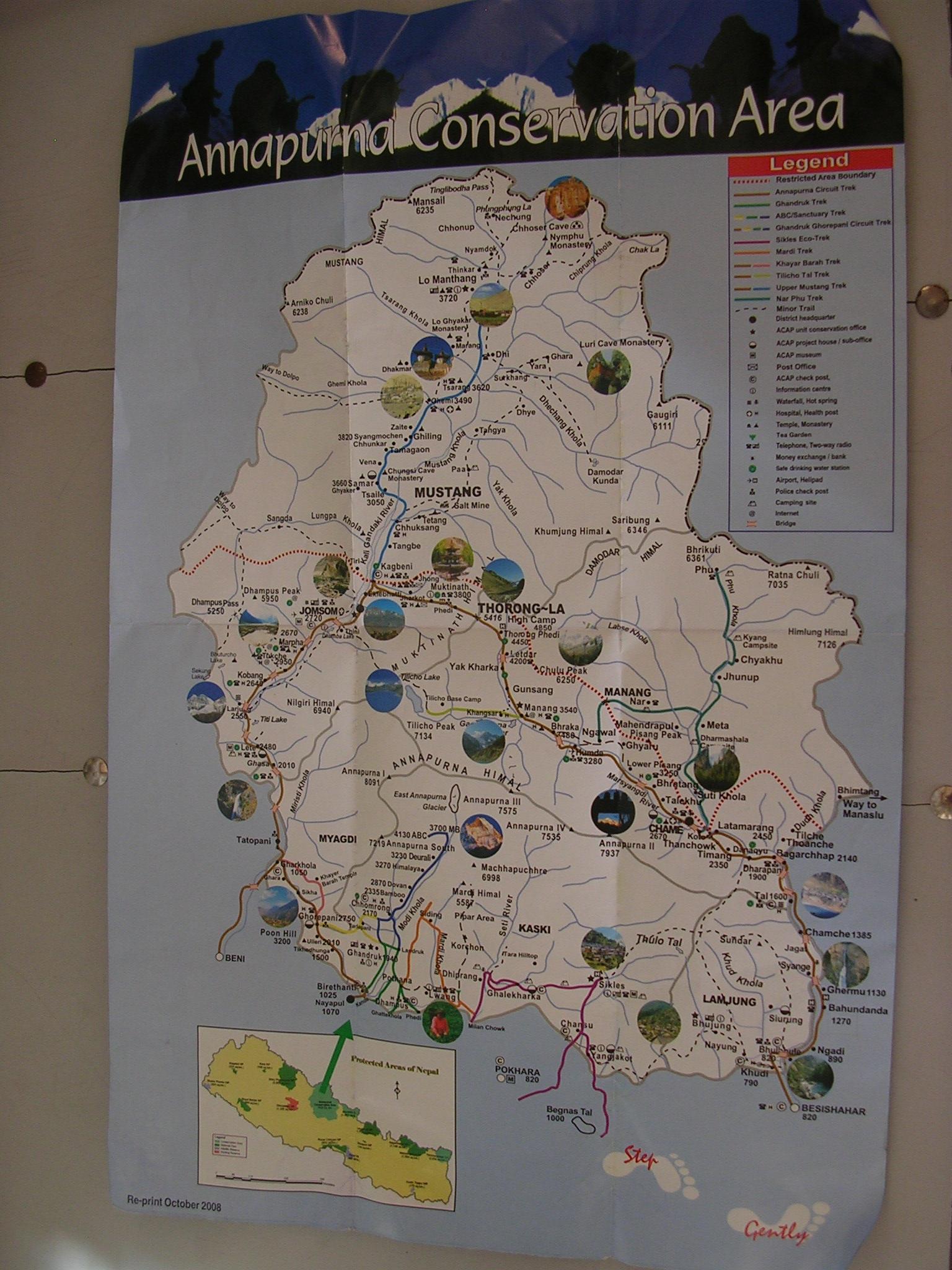尼泊尔地图_金秋十四日尼泊尔之旅--神秘的国度,难忘的徒步!_尼泊尔旅游 ...