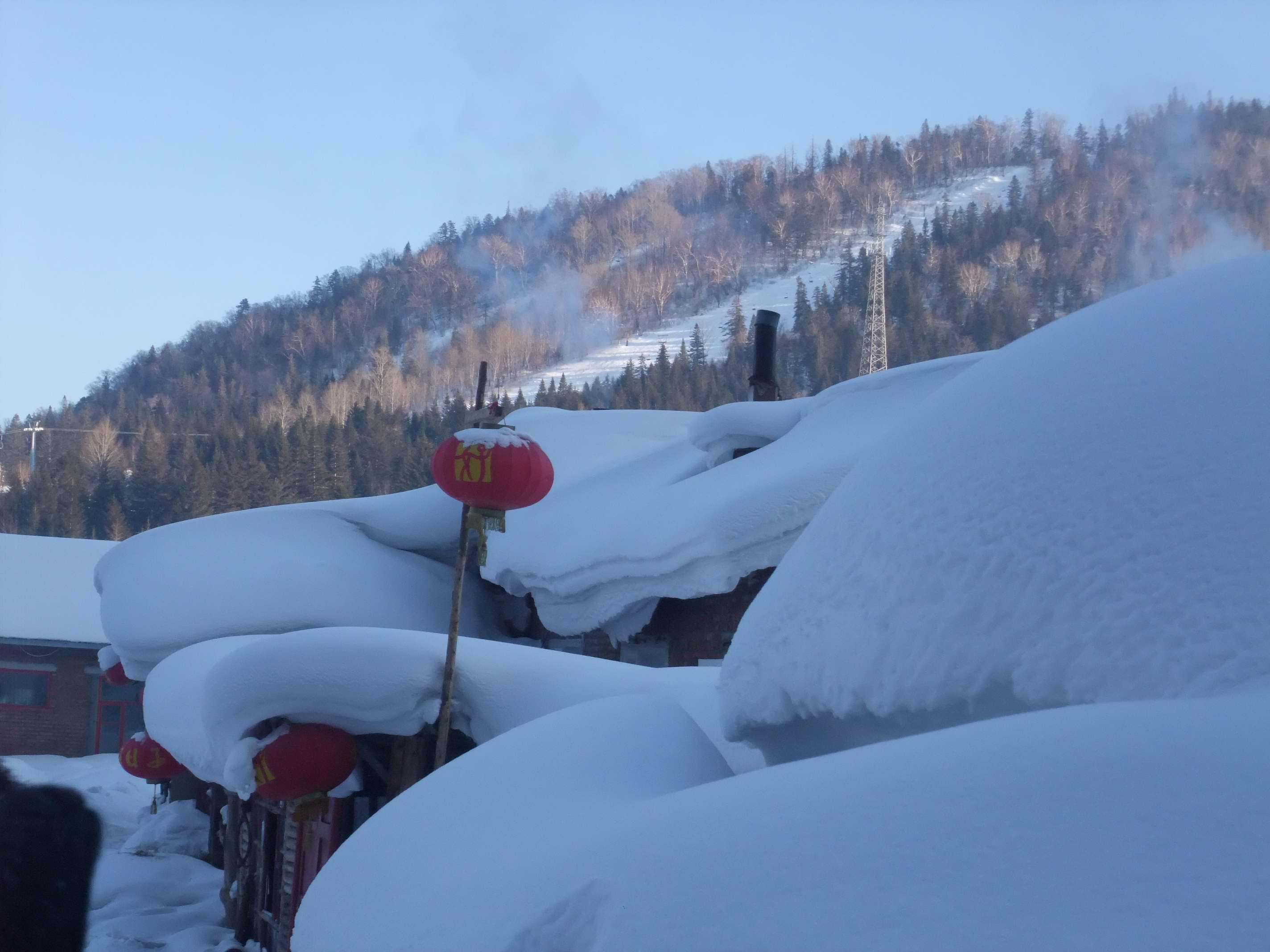 2010年春节东北雪乡,长白山游